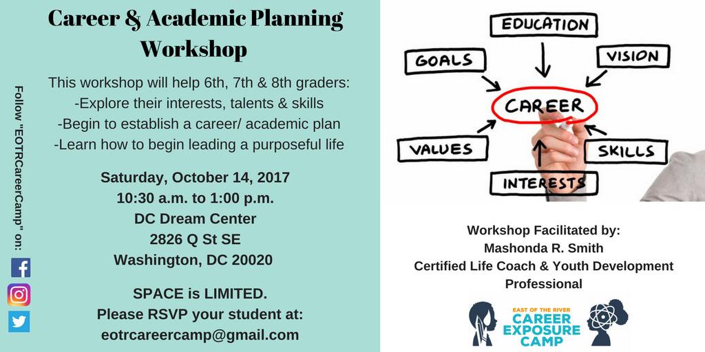 EOTRCEC Career & Academic Workshop